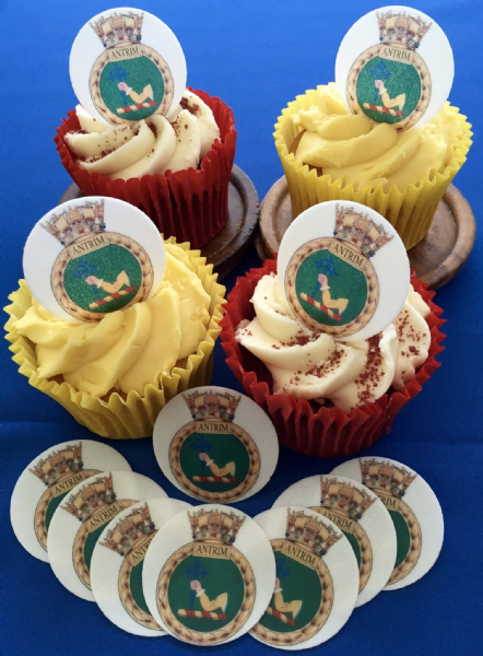 Royal Navy cake toppers - HMS Antrim